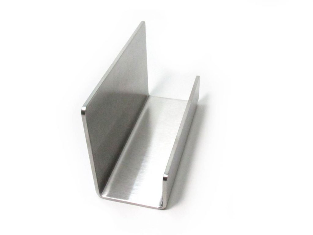 business card holder left side view