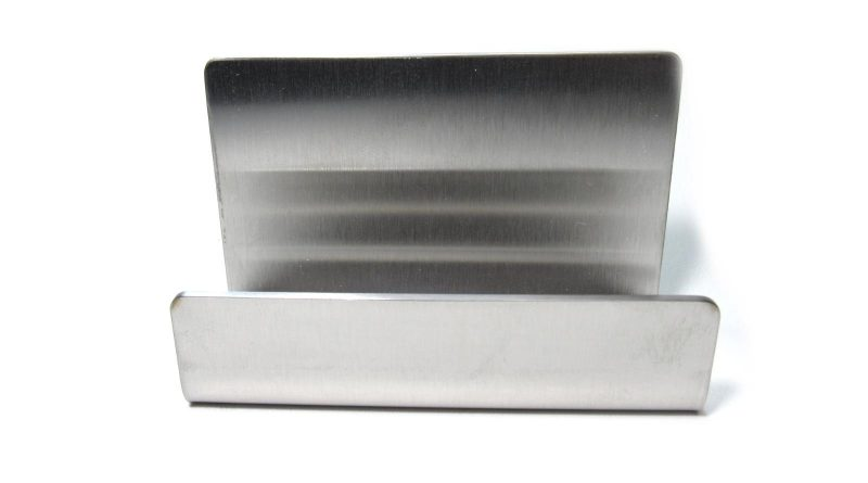 Stainless Steel Business Card Holder review product photo