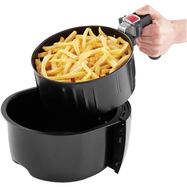 Farberware air fryer review Basket removed from bin